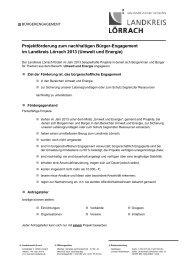 Ausschreibungstext (PDF) - Landkreis Lörrach