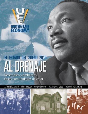 El Estado del Sueño 2010 – Al Drenaje ... - Economía Justa