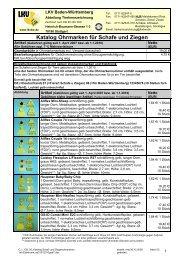 Katalog Ohrmarken für Schafe und Ziegen mit Elektronik