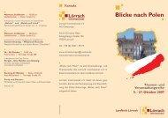 Blicke nach Polen - Landkreis Lörrach