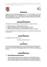 Betriebssatzung für den EB Heime mit ... - Landkreis Lörrach