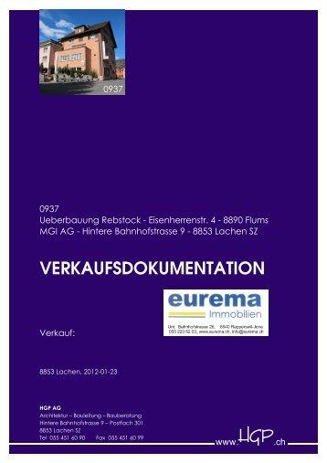VERKAUFSDOKUMENTATION - HGP AG