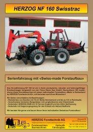 NF 160 Swisstrac - Herzog Forsttechnik