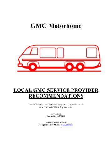 Supersized Gmc Motorhome Wiring Diagrams We Have Bdubnet - WIRE Center •