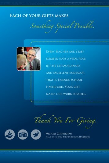 View the 2012 Annual Report (pdf) - Friends School Haverford