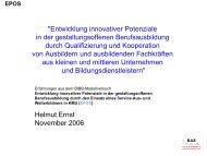 Vortrag Prof. Dr. Helmut Ernst - BiBB