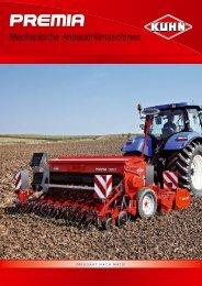 Die mechani- schen Anbau- drillmaschinen von KUHN - Hilzinger AG
