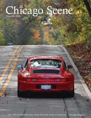 08 Dec Scene cover.indd - Porsche Club of America - Chicago Region