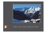 Verbier, Switzerland, Chalet des Merles