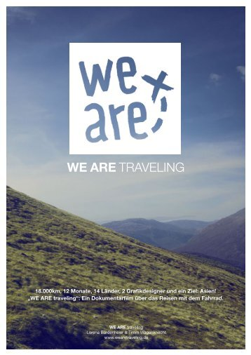 Pressemappe - WE ARE traveling