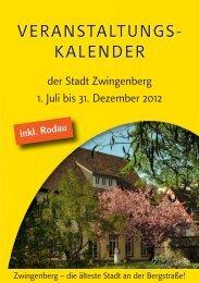 Inhalt 2-2012.indd - Zwingenberg