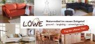 Unsere Hausmesse - Löwe Naturmöbel GmbH