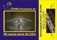 Wir starten durch 2011/2012 - LOEWE-Promotion