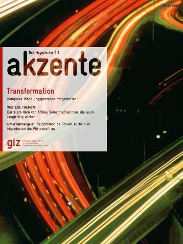 Gesamte Ausgabe (pdf, 12.36 MB, DE) - GIZ