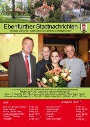 Ebenfurther Stadtnachrichten vom September 2012