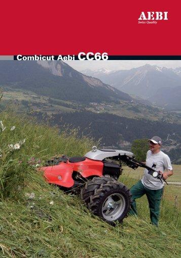 Combicut Aebi CC66 Technische Daten / Données ... - Europe service