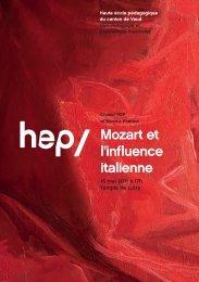 Programme (PDF - 3360 Ko) - HEP Vaud