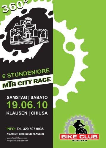 6 STUNDEN/ORE - Bike Club Klausen