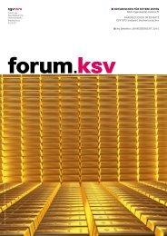 forum.ksv Ausgabe 03/2011
