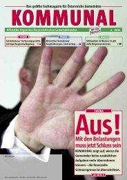 Die komplette Ausgabe 4/2010 der Fachzeitschrift KOMMUNAL