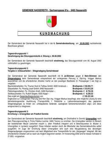 Datei herunterladen - .PDF - Gemeinde Nassereith