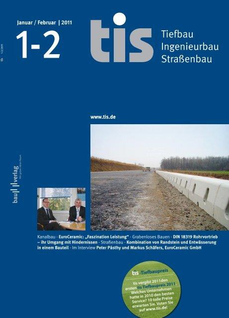 Tiefbau Ingenieurbau Straßenbau - ACO GmbH