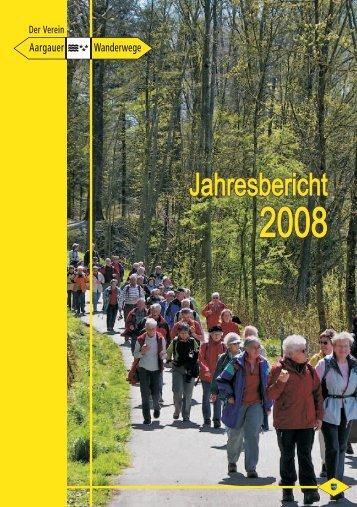 Spezielles im 2008 - Aargauer Wanderwege