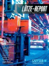 Lütze Report - Lutze, Inc.