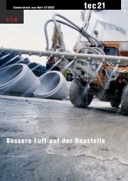 Bessere Luft auf Baustellen - Neosys AG