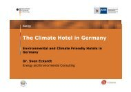 The Climate Hotel in Germany - AHK Italien