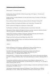 Publikationen von Prof. Dr. Thomas Bremer ... - Dbs-lin.rub.de