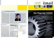 Ein Titan bei COSUS - COSUS Computersysteme und Software GmbH