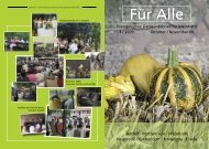 Evangelischer Gemeindebrief für Meinhard 4 / 2009 Oktober ...