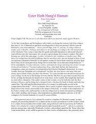 Ester Hath Hang'd Haman