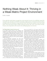 Nothing Weak About It: Thriving in - NASA ASK Magazine