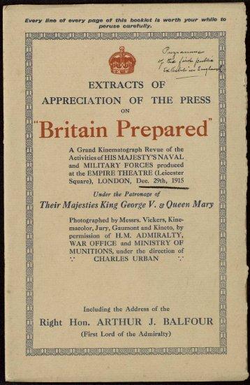 Britain Prepared