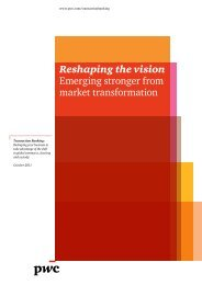 Thriving in the new transaction banking ecosystem - PwC