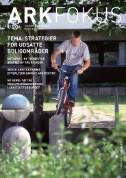 tema: strategier for udsatte boligområder - Arkitektforbundet
