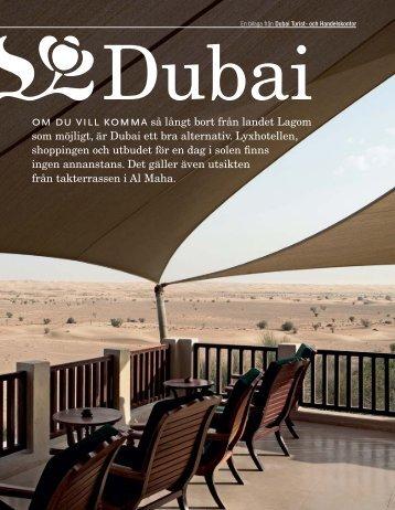 En bilaga från Dubai Turist - dmp works