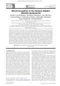 Electroreception in the Guiana dolphin (Sotalia guianensis) - Page 2