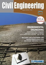 on the cover environmental engineering - SAICE