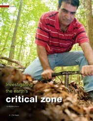critical zone - Soil Science Society of America