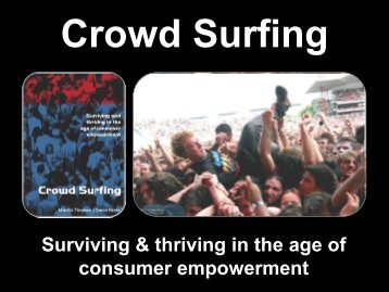 Surviving & thriving in the age of consumer ... - EPiServer World