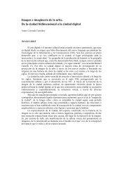 Imagen e imaginario de la urbe. De la - Art, Arquitectura i Societat ...