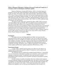 Effects of Response Elaboration Training on Increased Length