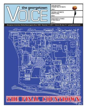 November 17 - The Georgetown Voice