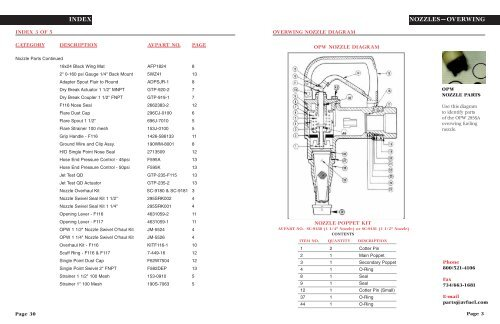 NOZZLES—OVERWING OVERWI