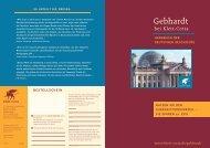 Prospekt Gebhardt Handbuch der deutschen Geschichte - Klett-Cotta