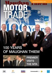 100 YEARS OF MAUGHAN THIEM - MTA