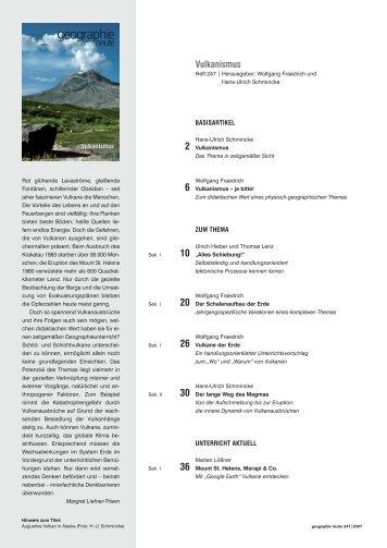 2 Vulkanismus - Friedrich Verlag